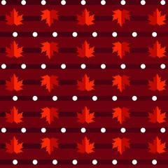 seamless maple leaf patterns