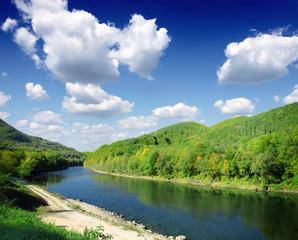 river Drina,Serbia
