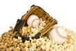 Softball Baseball and Snacks