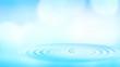 Leinwanddruck Bild - water ripple, abstract environmental backgrounds
