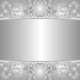 Fototapety silver background