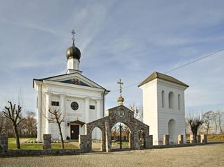 Church of Saint John the Divine in Terespol. Poland