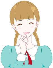 少女 笑顔