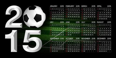 Calendar 2015 Soccer
