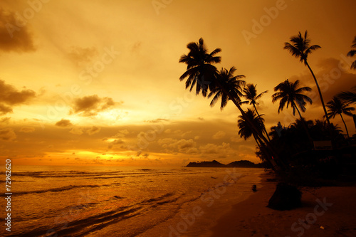 canvas print picture Chang island, Koh Chang, Trat province Thailand