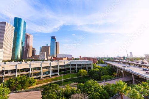 Foto op Plexiglas Texas Houston Skyline North view in Texas US