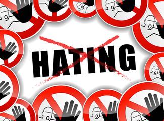 no hating