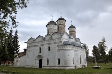 Ризположенский собор. Женский Ризположенский монастырь. Суздаль,