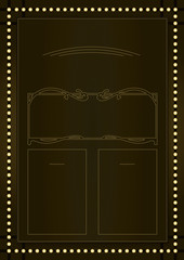 Prohibition Era Background and Frame Design