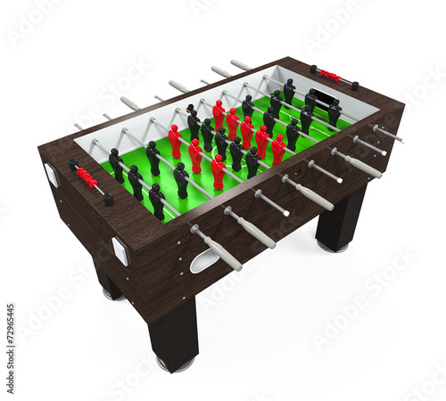 canvas print picture Foosball Soccer Table Game