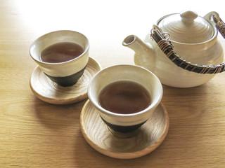 玄米茶のお茶セット