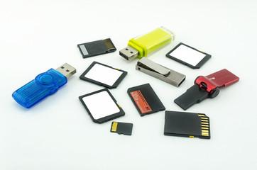 Memory card set
