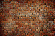 Leinwanddruck Bild - Classic Beautiful Textured Brick Wall