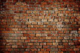 Classic Beautiful Textured Brick Wall poster