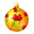 traditional christmas ball