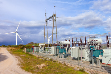 Collector Substation for a wind farm