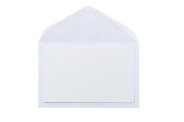 Sobre y tarjeta en blanco