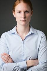 Leadership - Authoritative Businesswoman