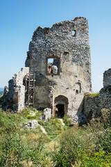Gymes castle in Slovak republic