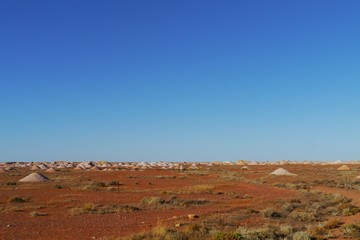 Opal mines in Coober Pedy in the outback of Australia
