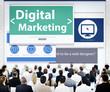 Business People Digital Marketing Seminar Concepts
