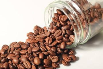 słoik z kawą