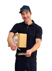 Paketdienst // Delivery of packet