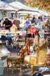 Leinwanddruck Bild - Sunday flea market.