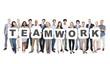 Multi-Ethnic Business People Holding Teamwork