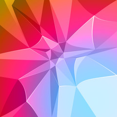 abstract geometric background with triangles, easy editable