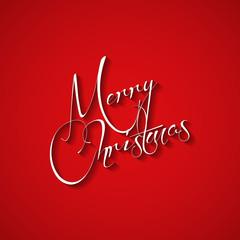 Christmas card vector typography, easy all editable
