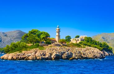 Lighthouse, Mallorca, Balearic island, Spain