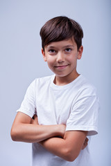 Healthy boy portrait