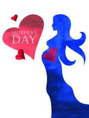 Card of Happy Mothers Day