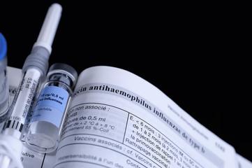 notice,vaccin contre la grippe,effets secondaires