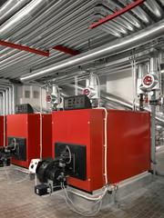 impianto riscaldamento industriale