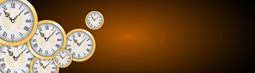 orologi, tempo, orizzontale