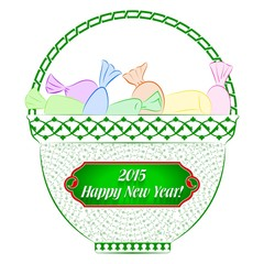 2015 Happy New Year Emailcard