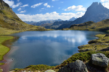 Lake Gentau in the French Pyrenees