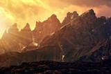 Pale di San Martino at sunset, Dolomites - Italy
