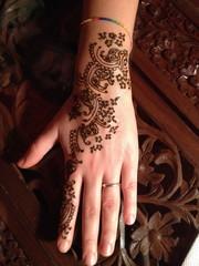 Mehndi   decorazione Henne