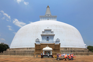 Anuradhapura, dagoba Ruvanvelisaya
