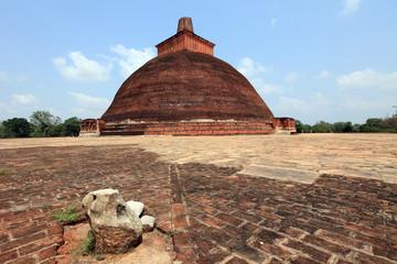 Jethawana Dagoba, Anuradhapura, Sri Lanka