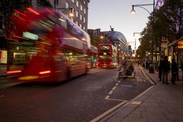 London Bus in Oxford Street