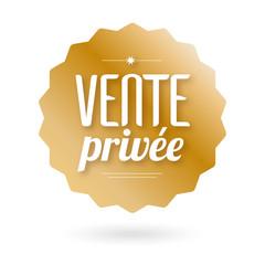 Vente privée