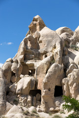 Open Air Museum in Goreme . Cappadocia, Turkey