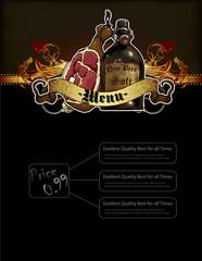 beer and snack menu