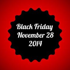 black friday vector design poster template, eps10