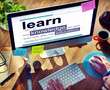 Digital Learn Knowledge Education Concepts
