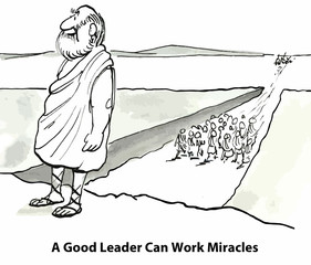A Good Leader Can Work Miracles